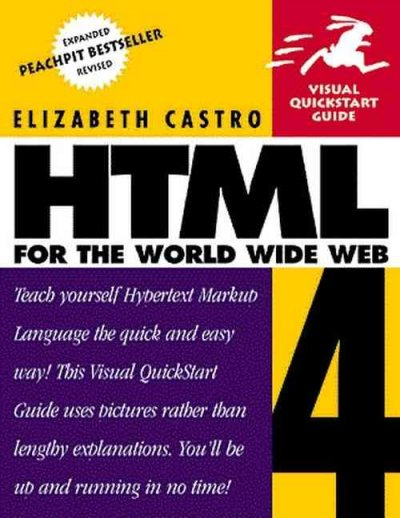 HTML 4 for the World Wide Web: VQS (3rd Edition) cover
