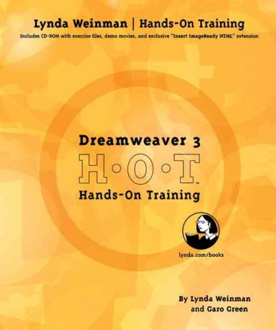 Dreamweaver 3 Hands-on-Training (2nd Edition) cover