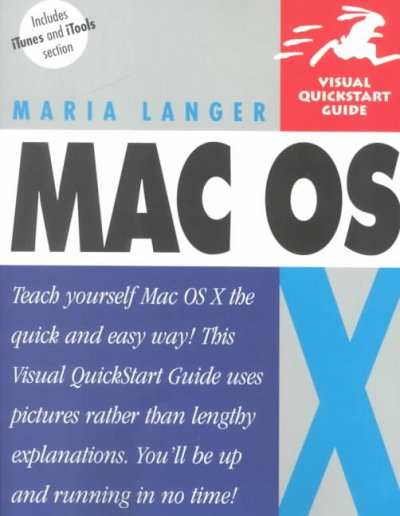 Mac OS X (Visual QuickStart Guide) cover