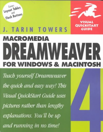 Dreamweaver 4 for Windows & Macintosh (Visual QuickStart Guide) cover