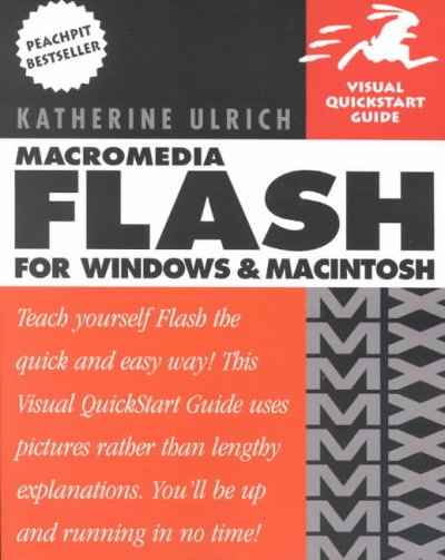 Macromedia Flash MX for Windows & Macintosh cover