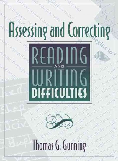 Assessing and Correcting Reading and Writing Difficulties cover