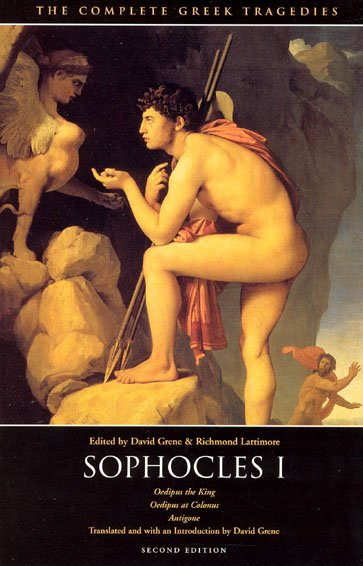 The Complete Greek Tragedies: Sophocles I cover