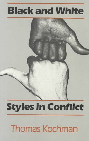 Black and White Styles in Conflict cover