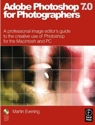 Adobe Photoshop 7.0 for Photographers, First Edition cover