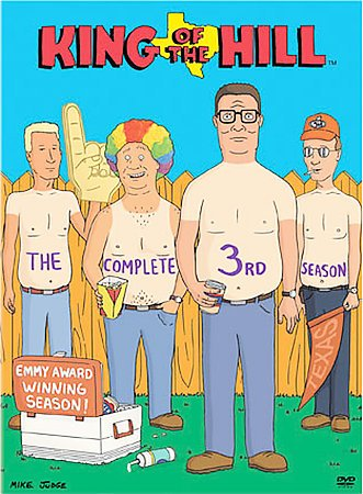 King of the Hill - The Complete Third Season cover