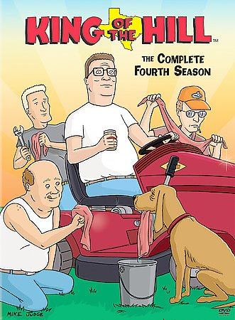 KING OF THE HILL SEASON 4 cover