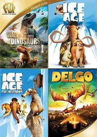 Walking with Dinosaurs / Ice Age / Ice Age: The Meltdown / Delgo Quad Feature cover