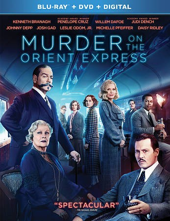 Murder On The Orient Express [Blu-ray] cover