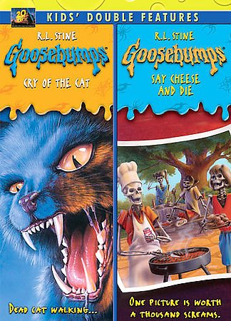 Goosebumps: Cry of the Cat/Say Cheese and Die cover