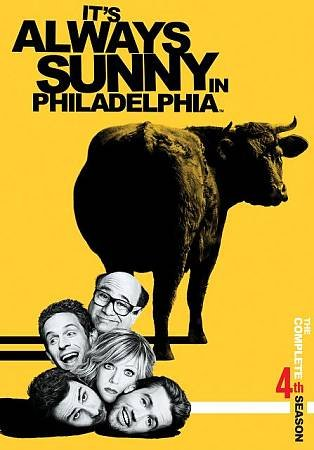 Its Always Sunny In Philadelphia: The Complete Season 4 cover