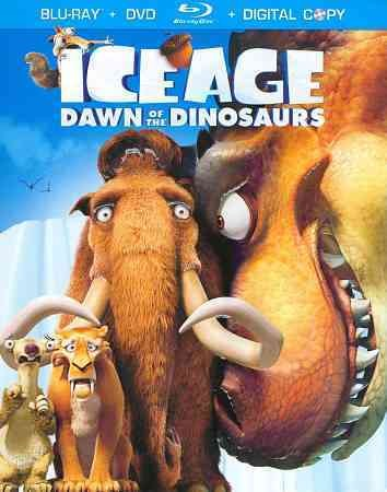 Ice Age: Dawn of the Dinosaurs (Blu-ray / DVD + Digital Copy) cover