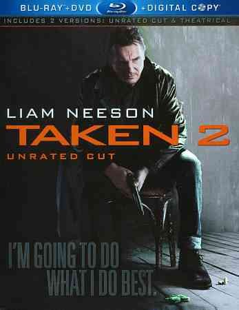 Taken 2 (Unrated Cut) [Blu-ray] cover