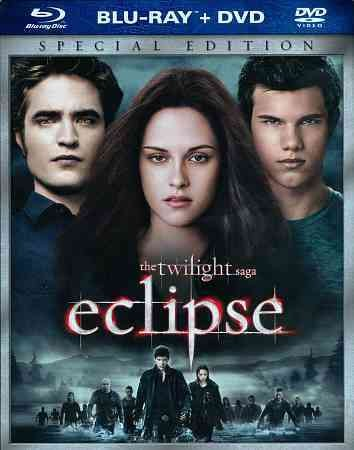 The Twilight Saga: Eclipse (Special Blu-ray/DVD Single-Disc Edition) cover