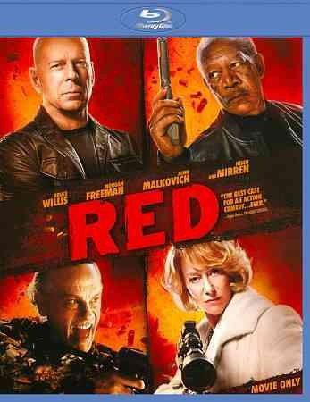 Red (Movie-Only Edition) [Blu-ray] cover