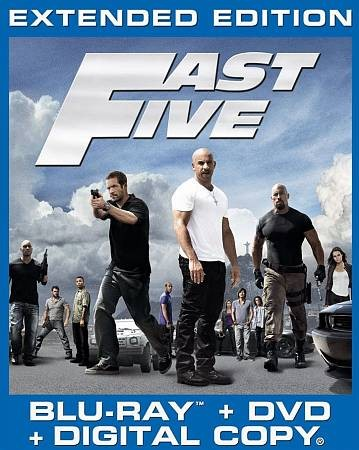 Fast Five [Blu-ray] cover