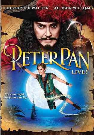 Peter Pan Live! cover