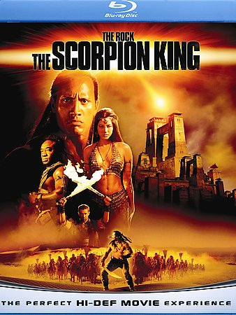 SCORPION KING, THE (BD) cover
