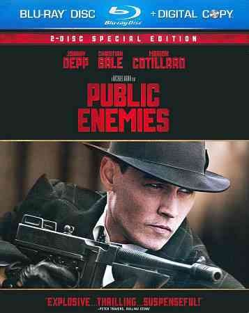 Public Enemies - Special Edition [Blu-ray] cover