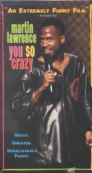 Martin Lawrence - You So Crazy [VHS] cover