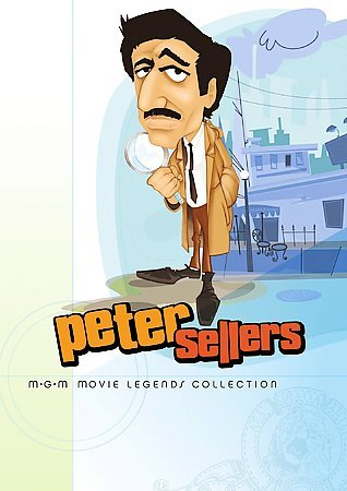 Peter Sellers MGM Movie Legends Collection (The Pink Panther / What's New, Pussycat? / The Party / Casino Royale) cover