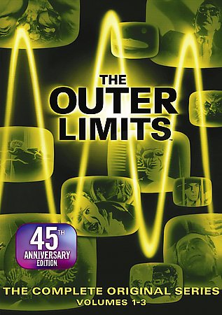 The Outer Limits - The Complete Original Series Volumes 1-3 cover