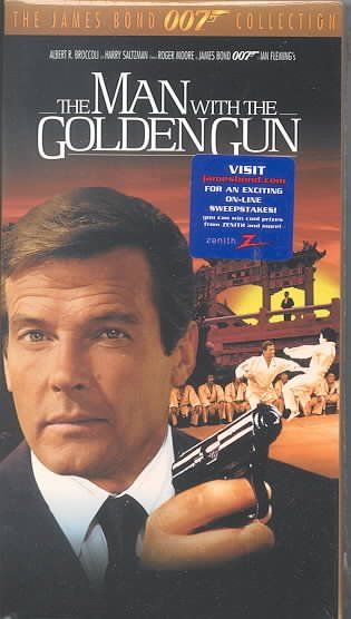 The Man With the Golden Gun [VHS] cover