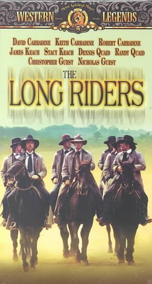 The Long Riders [VHS] cover