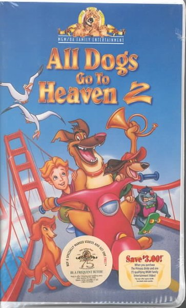 All Dogs Go to Heaven 2 [VHS] cover