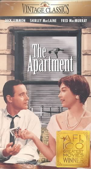 The Apartment [VHS] cover