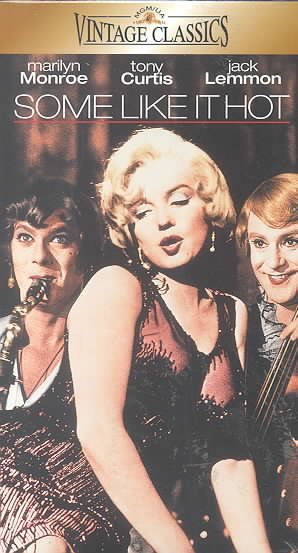 Some Like It Hot [VHS] cover