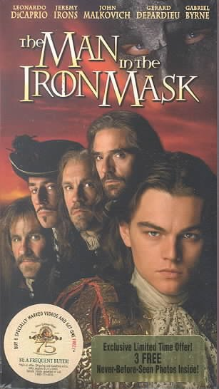 The Man in the Iron Mask [VHS] cover