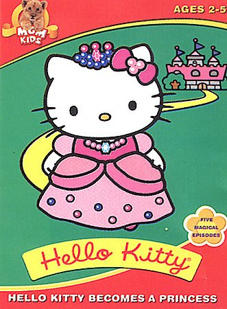 Hello Kitty Becomes a Princess cover