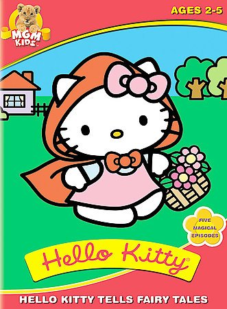 Hello Kitty Tells Fairy Tales cover