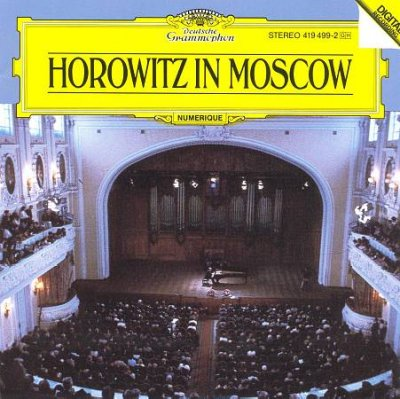 Horowitz In Moscow cover