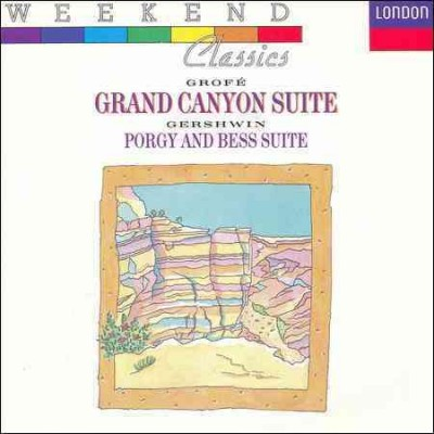 Grand Canyon Suite / Gershwin: Porgy & Bess Suite cover