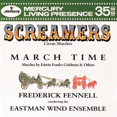 Screamers (Circus Marches) cover