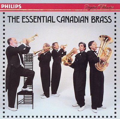 Essential Canadian Brass cover
