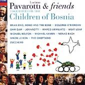 Pavarotti & Friends Together For The Children of Bosnia cover