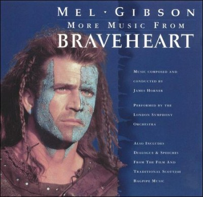 More Music From Braveheart (1995 Film) cover