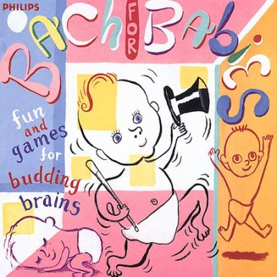 Bach for Babies: Fun and Games for Budding Brains cover
