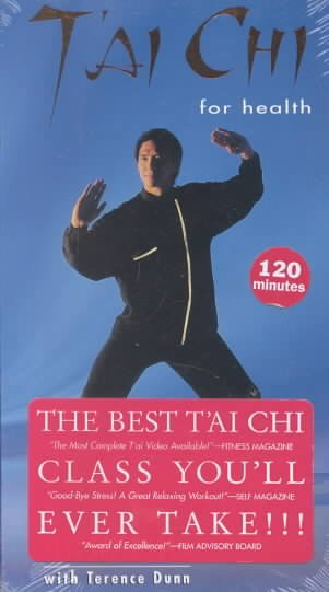 T'ai Chi for Health - Yang Short Form [VHS] cover