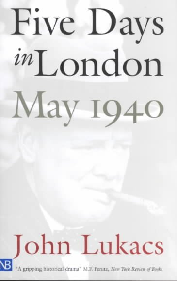 Five Days in London: May 1940 cover