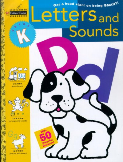 Letters and Sounds (Kindergarten) (Step Ahead) cover