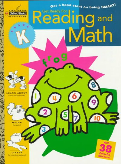 Get Ready for Reading and Math (Kindergarten) (Step Ahead) cover
