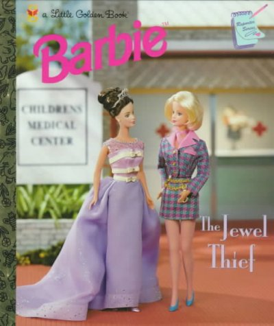 The Jewel Thief (Little Golden Book) cover