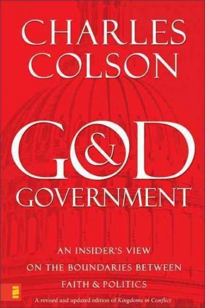 God & Government cover