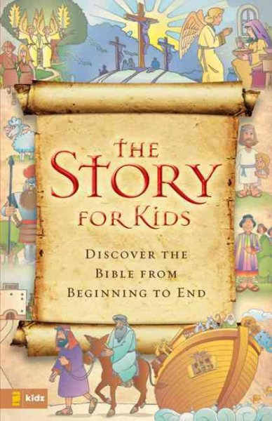 The Story for Kids, NIrV: Discover the Bible from Beginning to End cover
