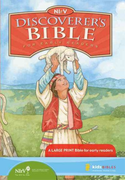 NIrV Discoverer's Bible for Young Readers cover