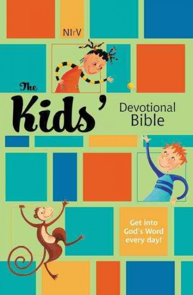 NIrV, The Kids Devotional Bible, Hardcover cover